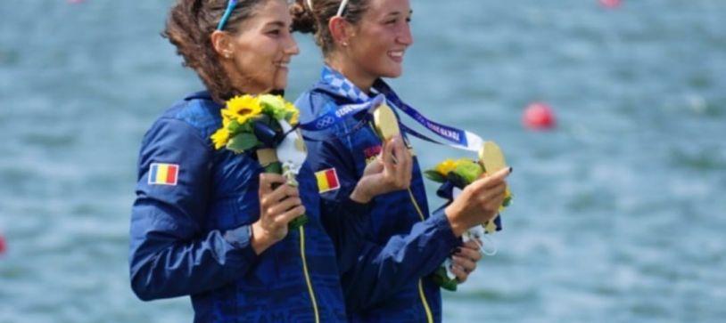 Simona Radiș și Ancuța Bodnar, prima medalie Olimpică de Aur pentru România la Tokyo și record olimpic!