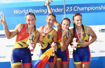 5 medalii la CM Canotaj 2018 Tineret