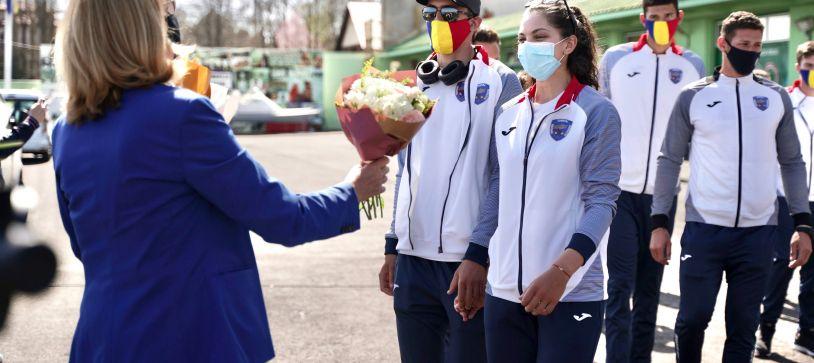 Medaliații României la canotaj, primire triumfală la Complexul Sportiv Snagov după succesul de la Campionatele Europene