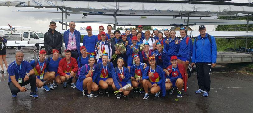 România, pe primul loc pe natiuni la Campionatul Mondial de Juniori din Lituania, cu sase medalii: două de aur, două de argint și două de bronz
