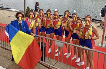 Bucurie pentru România! Juniorii de la Canotaj aduc acasă 7 medalii la Europenele de la Belgrad