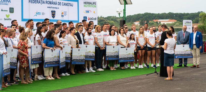 Lotul Olimpic al Federației Române de Canotaj a fost prezentat oficial. Cine ne va reprezenta țara la Tokyo!