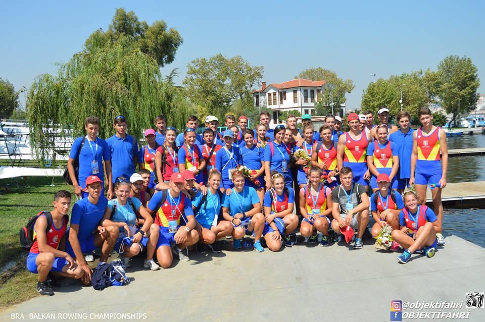15 medalii câștigate la Campionatul Balcanic de Juniori