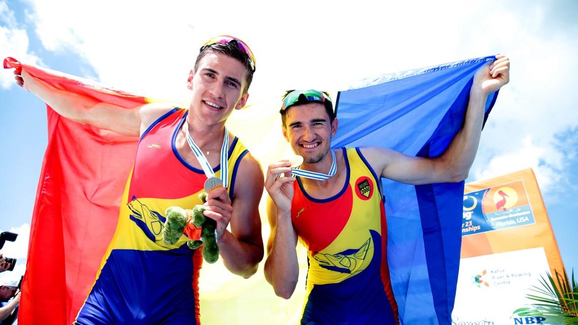 Aur și bronz pentru România la Campionatul Mondial de Canotaj U23